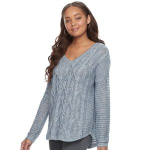 Sonoma Oversized Cable knit Sweater